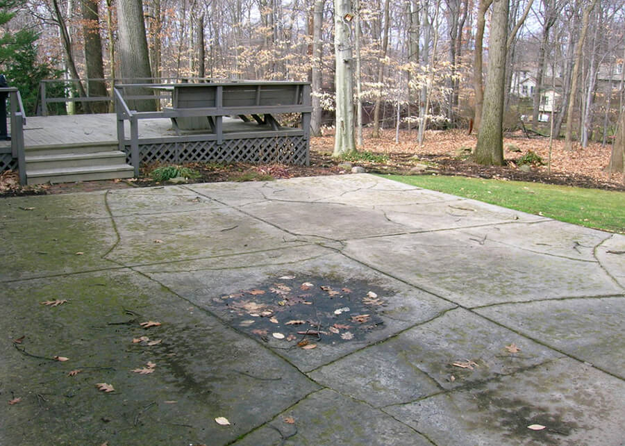 Concrete Is Costly To Replace. Paver And Stone Patios ...