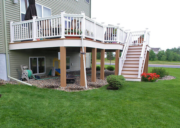 deck vs patio deck heading - Deck Vs Patio