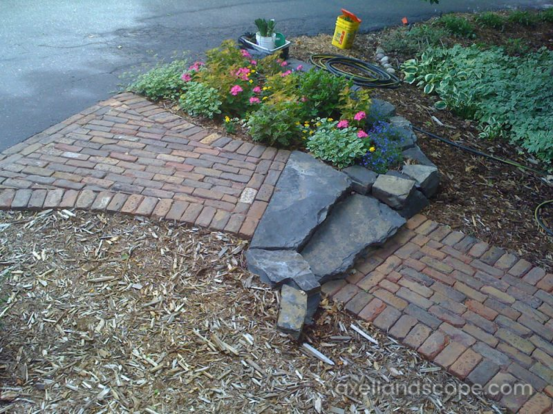 Paver Patio Sidewalk