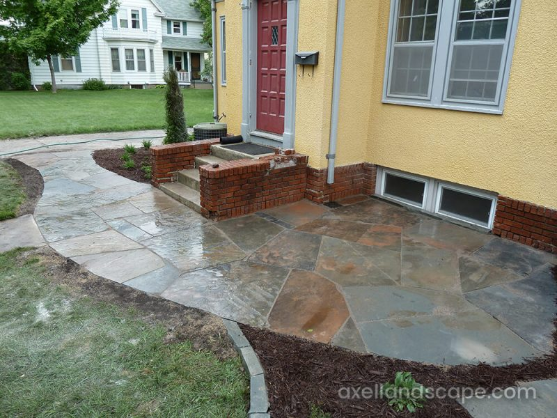 Golden Valley Natural Stone Patio