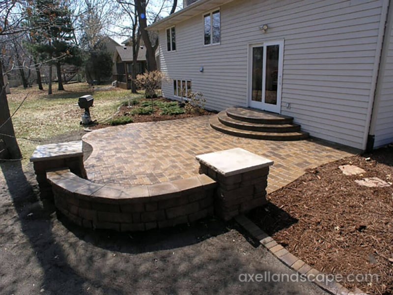 Maple Grove Paver Patio