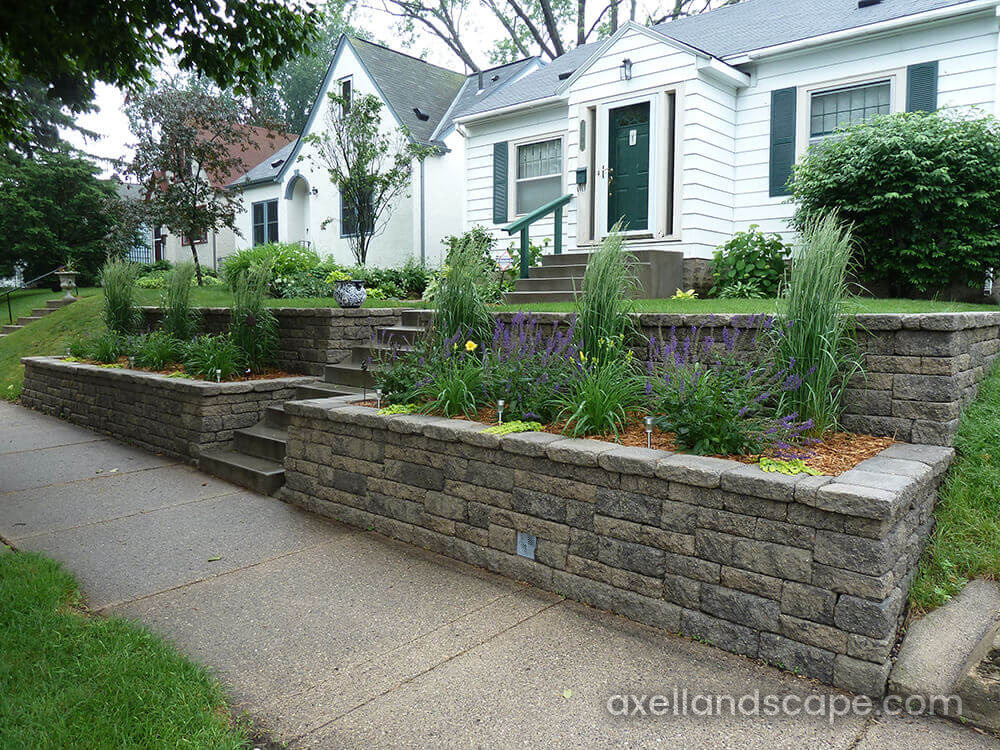 How To Build A Retaining Wall [Video] | Axel Landscape