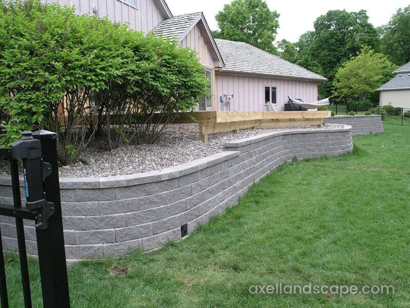 Plymouth Retaining Wall